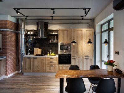 Кухня ДСП 03 —  ясень