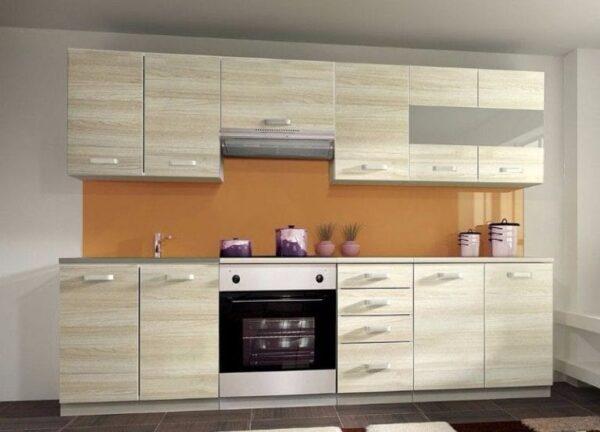 Кухня ДСП 01 — ясень