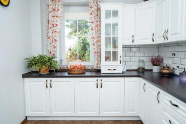 Кухня ДСП 04 —  белая