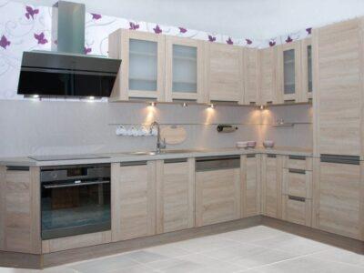 Кухня ДСП 10 — белый глянец