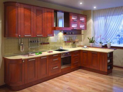 Кухня 06 — дуб