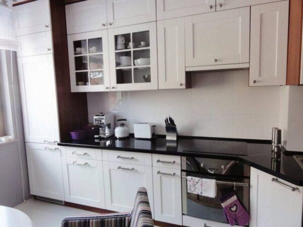 Кухня МДФ 04 — белая