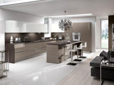 Кухня МДФ 13 — белый глянец