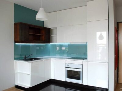 Кухня МДФ 01 — белая