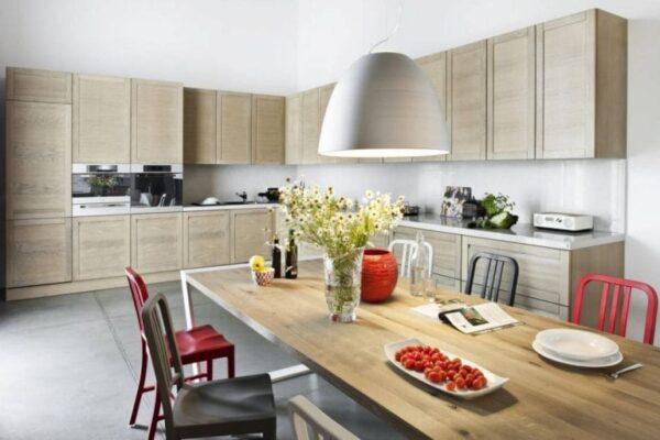 Кухня 01 — шпон