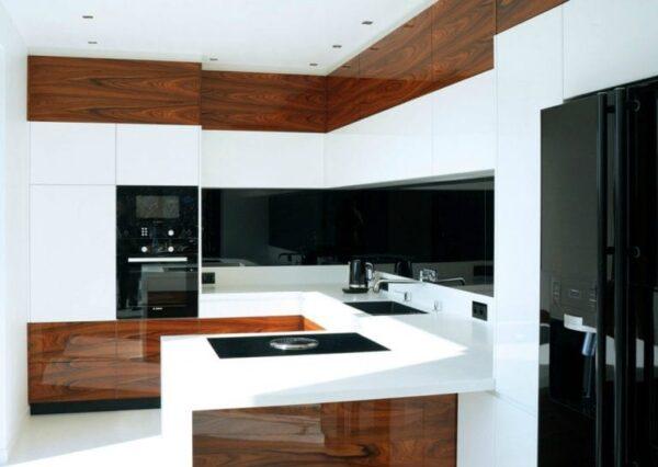 Кухня 02 — шпон
