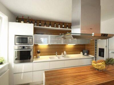 Кухня 17 — шпон
