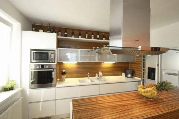 Кухня 05 — шпон
