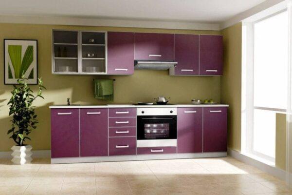 Кухня 12 — шпон