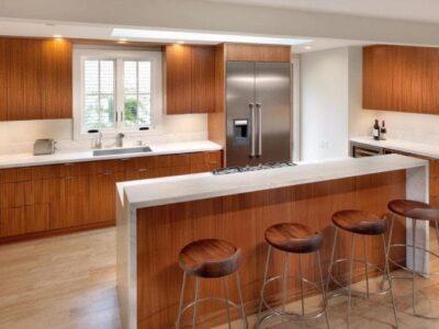 Кухня 18 — шпон